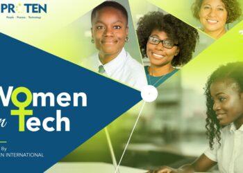 Women in Tech Report 2021 by Proten International